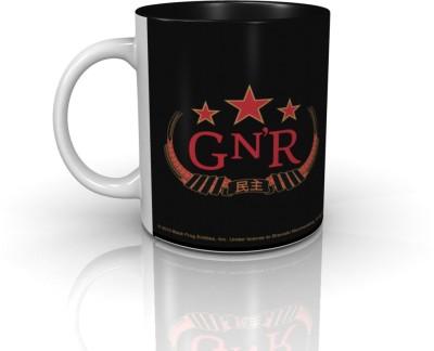 Bravado Guns N Roses Logo Red Ceramic Mug