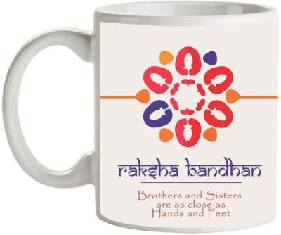 Artist Raksha Bandhan Rakhi MB-1801 Ceramic Mug