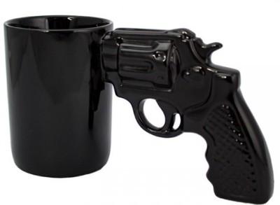 i-gadgets Revolver Gunman Ceramic Mug