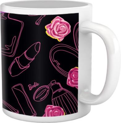 Tiedribbons Pure Vanity_Tru Concept_ Lovely Barbie lady Pattern Ceramic Mug