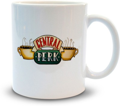 Shoppers Bucket Central perk Ceramic Coffee  Ceramic Mug