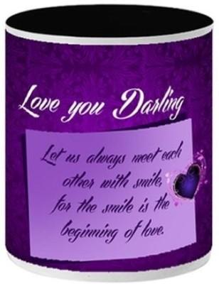 Allthingscustomized Smile and Love Gift Ceramic Mug