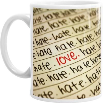 Hainaworld Love And Hate Coffee  Ceramic Mug