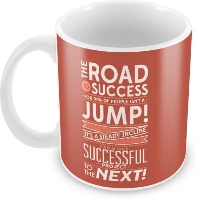 AKUP the road to success Ceramic Mug