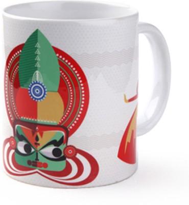 Studio Pandora Kathakali Ceramic Mug