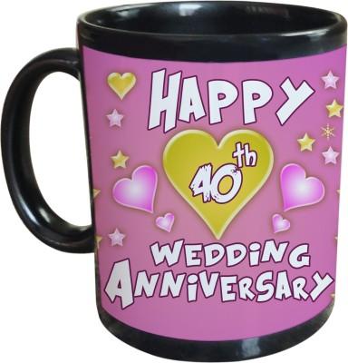 Sajawat Homes 40th Wedding Anniversary Coffee Ceramic Mug