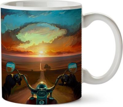 Pentagraphics Long Road Ceramic Mug