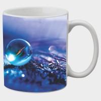 Printland Printland Sparkle White Coffee 350 - ml Ceramic Mug(350 ml) best price on Flipkart @ Rs. 249