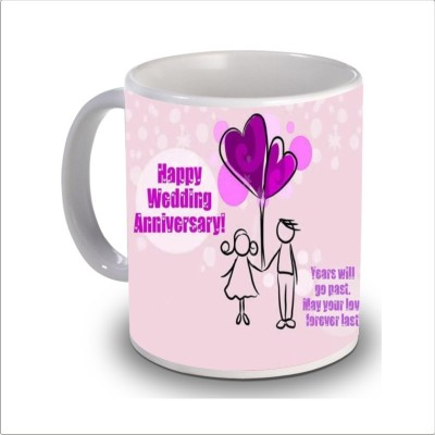 Print Hello happy anniversary 67 Ceramic Mug