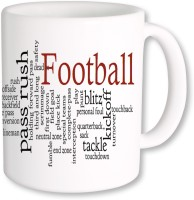 PhotogiftsIndia I Love Football 02 Ceramic Mug