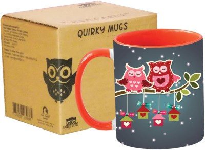 Only Owl OlILY12 Gift I Love You Ceramic Mug