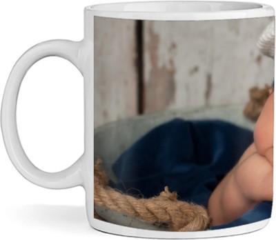 SBBT Sleeping Kid In Cap Ceramic Mug