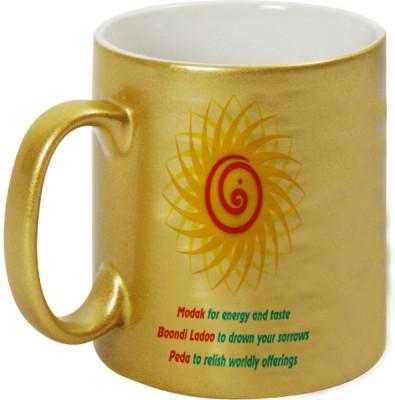 Mugwala Ganpati Sudarshana Chakra Ceramic Mug