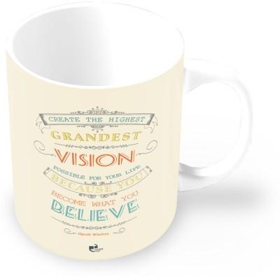Thinkpot You Become What You Believe - Oprah Winfrey Ceramic Mug