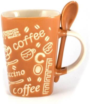 Gifts Loft Cafe Coffee Ceramic Mug(360 ml) at flipkart