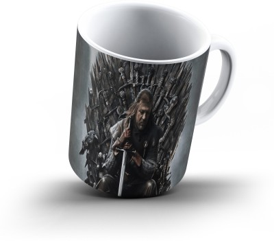 Ucard Ned Stark Game Of Thrones872 Bone China, Ceramic, Porcelain Mug