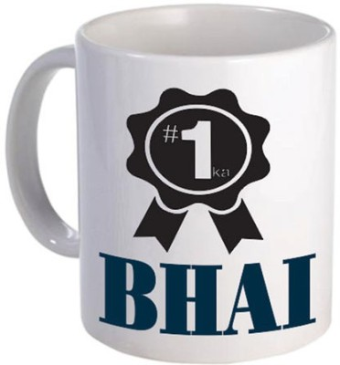 Giftsmate Ek Number Ka Bhai Ceramic Mug