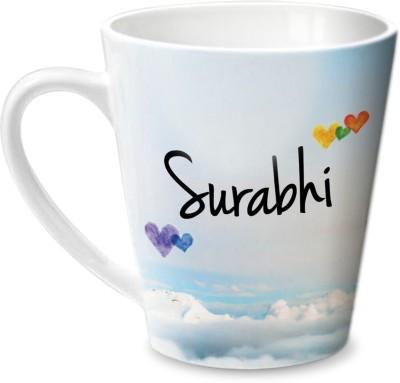 Hot Muggs Simply Love You Surabhi Conical  Ceramic Mug