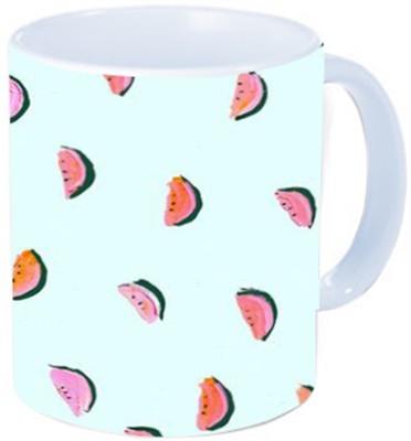 Rawkart Watermelonss Print Ceramic Mug