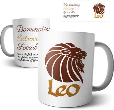 Chiraiyaa Star Sign Leo Ceramic Mug