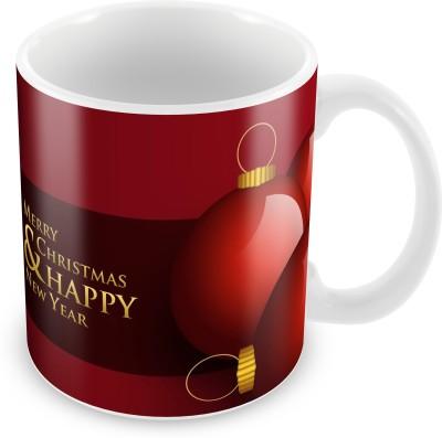 Prinzox Merry christmas and happy new year wishing Ceramic Mug
