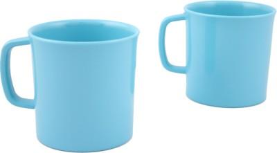 Hi Luxe Solid Clr Melamin 42248 Solid - Blue Melamine Mug