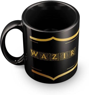 posterchacha Wazir Name Tea And Coffee  For Gift And Self Use Ceramic Mug
