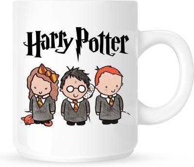 HuppmeGift Harry Potter White  Ceramic Mug