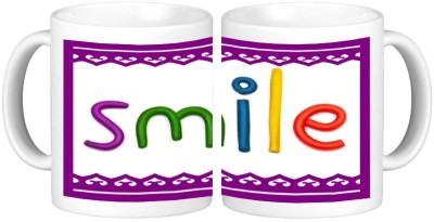 Shopmillions Smile Ceramic Mug