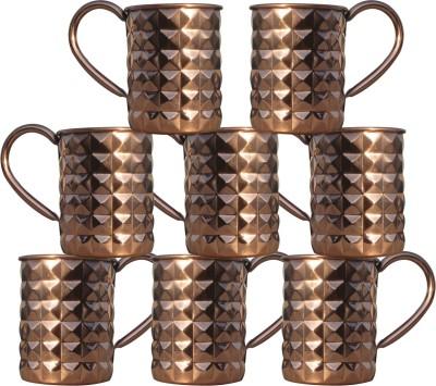 AsiaCraft MOSCOWMUG-012-8 Copper Mug