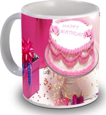 Print Helllo Happy Birthday R225 Ceramic Mug