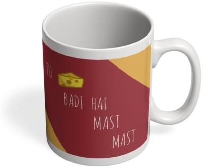 PosterGuy Tu Cheez Badi Hai Mast Mast Akshay Kumar, Raveena, Mohra, Cheese Ceramic Mug
