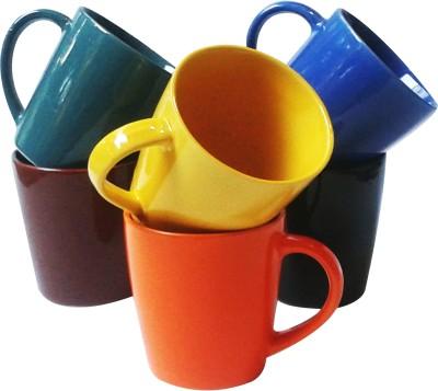 Buyer's Beach Delux Tumbler s Set Of-6 Ceramic Mug
