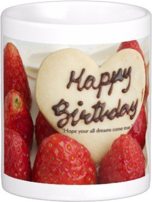 Exoctic Silver Happy Birthday To You : B,day 014 Ceramic Mug