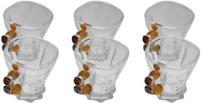 JewelKraft Designs Crystal Czech Glass Mug