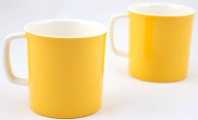 Hi Luxe Dbl Clr Melamine 42248 Dual Colour - Yellow Melamine Mug