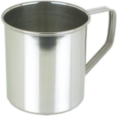 Mayur Exports 11 cm Stainless Steel Mug