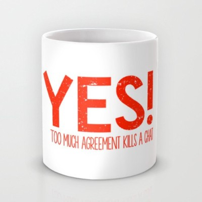 Astrode Yes Ceramic Mug