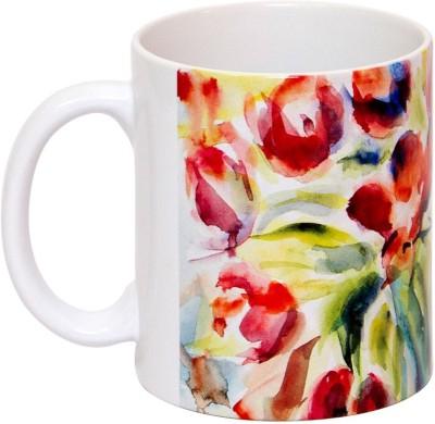IMFPA Flowery Abstract Ceramic Mug
