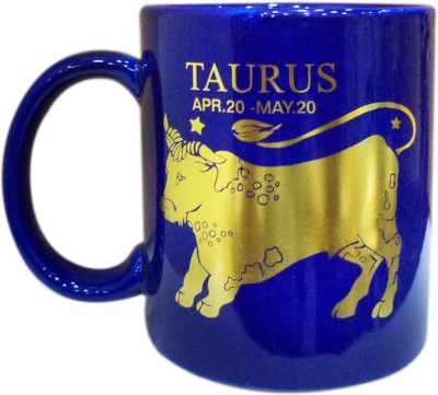 Art-N-Soul Zodiac Sign Tarus Cool & Classy Coffee Cup Ceramic Mug