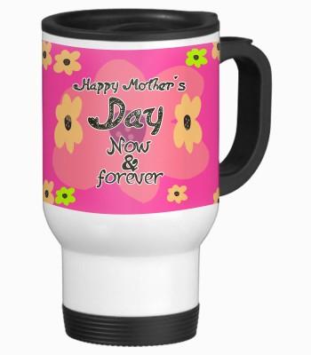 Tiedribbons Now Forever Happy Mother's Day Aluminium Mug