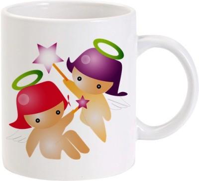 Lolprint Little Angels Ceramic Mug