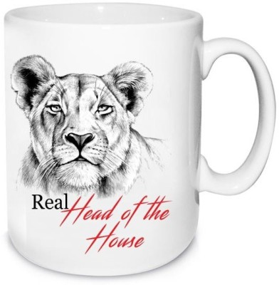 Archies Real Head Of The House Personalised  Ceramic Mug