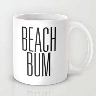 Astrode Beach Bum Ceramic Mug
