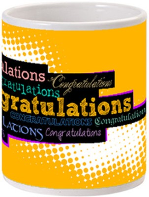 Allthingscustomized Congratulations Congratulations Ceramic Mug