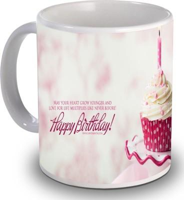 Print Helllo Happy Birthday R168 Ceramic Mug