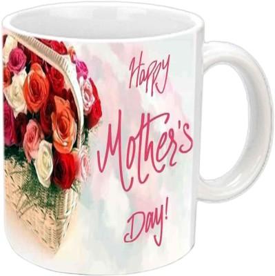 Jiya Creation1 Appiiii Mother,s day White Ceramic Mug
