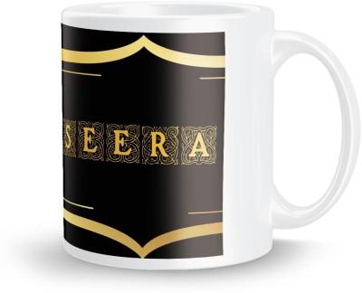 posterchacha Seera Name Tea And Coffee  For Gift And Self Use Ceramic Mug
