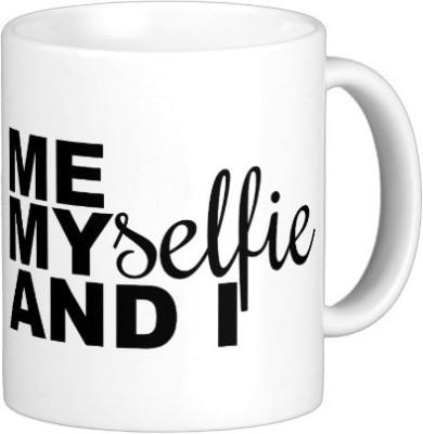 Exoctic Silver Selfieya A001 Ceramic Mug(350 ml)