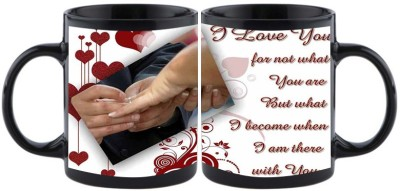 Shoperite I love you for not what you are but what I becom when I m there with you Ceramic Mug
